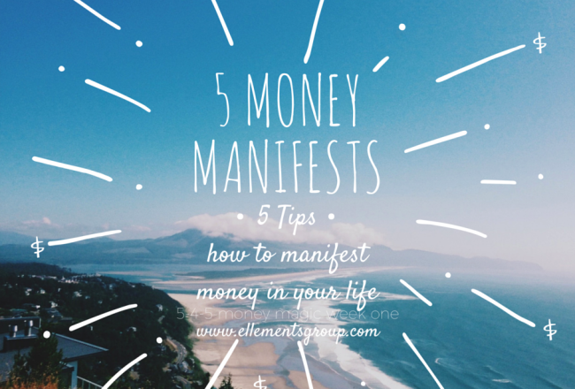 5 Money Manifests