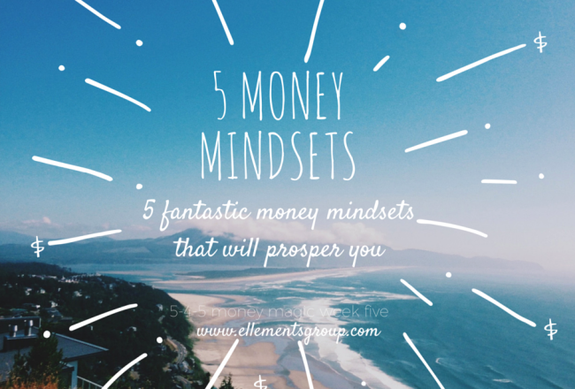 5 Money Mindsets