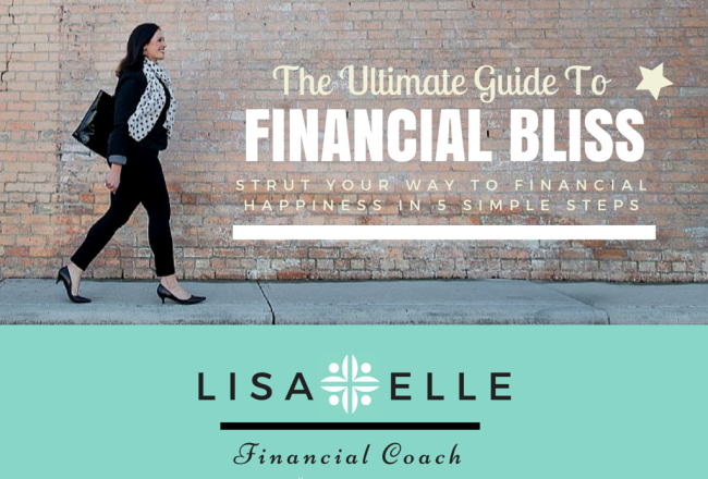 The Ultimate Guide to Financial Bliss E-Book Cover
