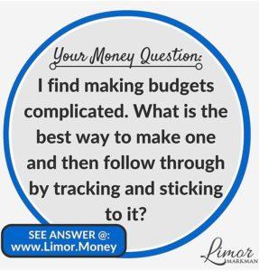 Budgets Instagram Image - Limor