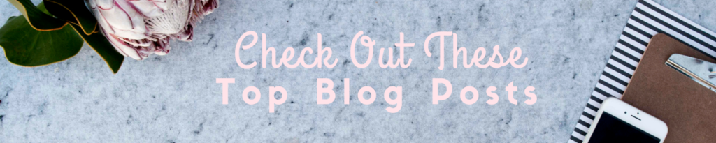 Check out these top blog posts
