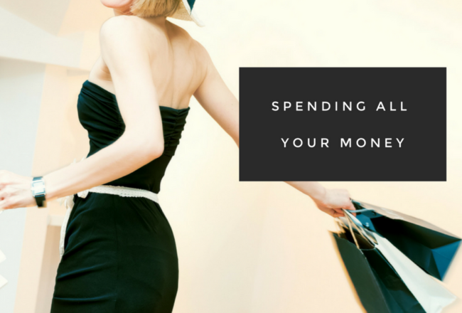 Spending All Your Money