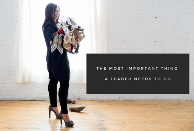 The Most Important Thing a Leader Needs To Do