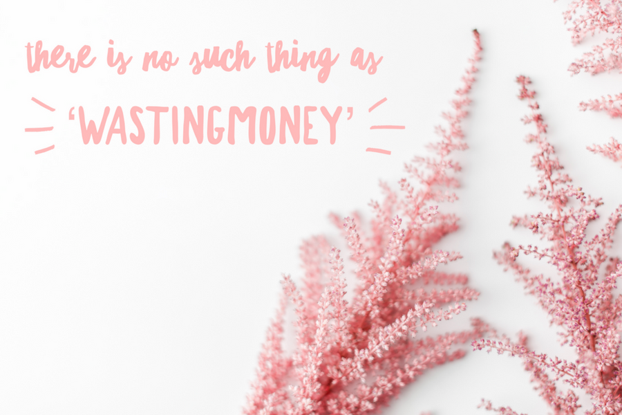 There is no such thing as Wasting Money