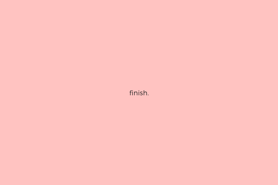 Finish Blog